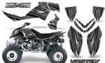 Outlaw 500 06 08 CreatorX Graphics Kit Vortex Black Silver 150x90 - Polaris Outlaw 450/500/525 2006-2008 Graphics