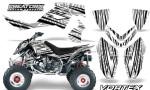 Outlaw 500 06 08 CreatorX Graphics Kit Vortex Black White 150x90 - Polaris Outlaw 450/500/525 2006-2008 Graphics