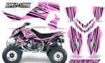 Outlaw 500 06 08 Graphics Kit SpeedX Black PinkLite 150x90 - Polaris Outlaw 450/500/525 2006-2008 Graphics