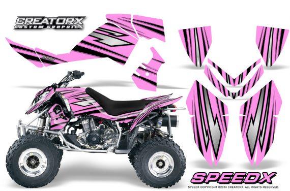 Outlaw 500 06 08 Graphics Kit SpeedX Black PinkLite 570x376 - Polaris Outlaw 450/500/525 2006-2008 Graphics
