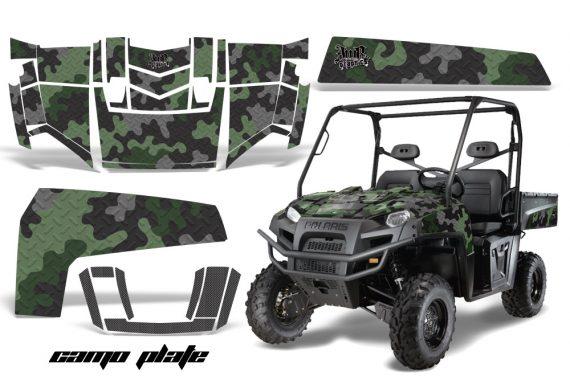 POL RangerXP2009 CP OliveGRN 570x376 - Polaris Ranger 500 XP 700 XP 4x4 EFI 2009 Graphics