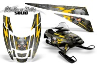 POLARIS-EDGE-XC-CreatorX-Graphics-Kit-Skulls-n-Bolts-Solid-Yellow-Silver