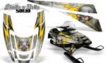 POLARIS EDGE XC CreatorX Graphics Kit Skulls n Bolts Solid Yellow White 150x90 - Polaris Edge Graphics