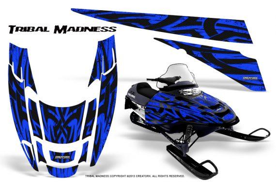 POLARIS EDGE XC CreatorX Graphics Kit Tribal Madness Blue 570x376 - Polaris Edge Graphics