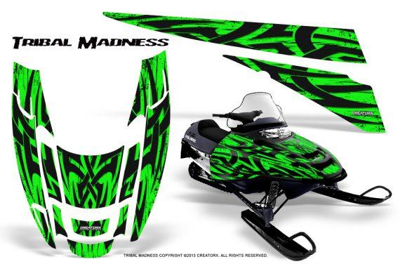 POLARIS EDGE XC CreatorX Graphics Kit Tribal Madness Green 570x376 - Polaris Edge Graphics