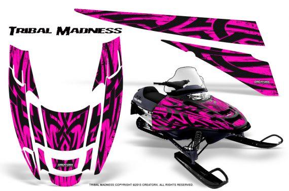 POLARIS EDGE XC CreatorX Graphics Kit Tribal Madness Pink 570x376 - Polaris Edge Graphics