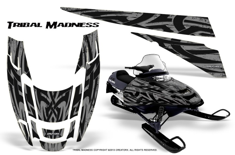 POLARIS-EDGE-XC-CreatorX-Graphics-Kit-Tribal-Madness-Silver