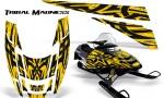 POLARIS EDGE XC CreatorX Graphics Kit Tribal Madness Yellow 150x90 - Polaris Edge Graphics