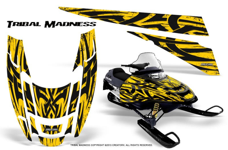 POLARIS-EDGE-XC-CreatorX-Graphics-Kit-Tribal-Madness-Yellow