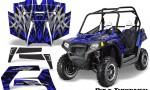 POLARIS RZR 800 2011 CreatorX Graphics Kit Bolt Thrower Blue 150x90 - Polaris RZR 800 800s 2011-2014 Graphics