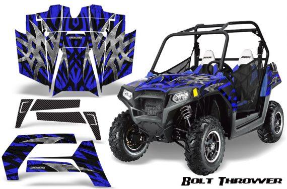POLARIS RZR 800 2011 CreatorX Graphics Kit Bolt Thrower Blue 570x376 - Polaris RZR 800 800s 2011-2014 Graphics