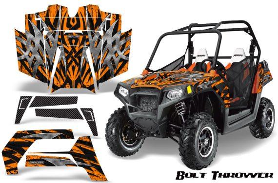 POLARIS RZR 800 2011 CreatorX Graphics Kit Bolt Thrower Orange 570x376 - Polaris RZR 800 800s 2011-2014 Graphics