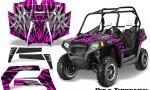 POLARIS RZR 800 2011 CreatorX Graphics Kit Bolt Thrower Pink 150x90 - Polaris RZR 800 800s 2011-2014 Graphics