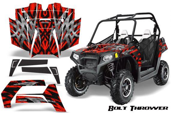 POLARIS RZR 800 2011 CreatorX Graphics Kit Bolt Thrower Red BB 570x376 - Polaris RZR 800 800s 2011-2014 Graphics