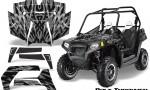 POLARIS RZR 800 2011 CreatorX Graphics Kit Bolt Thrower Silver 150x90 - Polaris RZR 800 800s 2011-2014 Graphics
