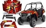 POLARIS RZR 800 2011 CreatorX Graphics Kit Purrfect Red 150x90 - Polaris RZR 800 800s 2011-2014 Graphics