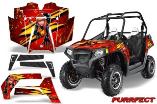 POLARIS RZR 800 2011 CreatorX Graphics Kit Purrfect Red 320x211 - Polaris RZR 800 800s 2011-2014 Graphics