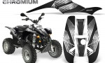 POLARIS Scrambler 500 Trailblazer 350 500 CreatorX Graphics Kit Chromium Black 150x90 - Polaris Scrambler Trailblazer 1985-2009 Graphics