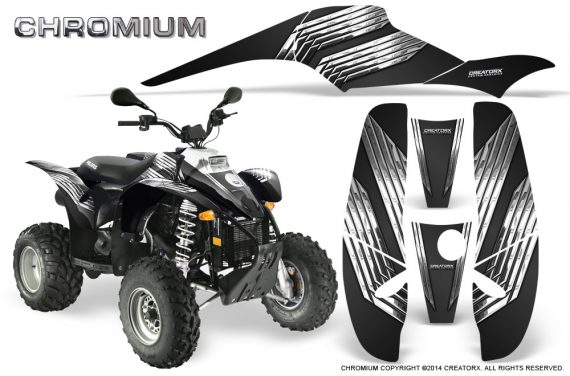 POLARIS Scrambler 500 Trailblazer 350 500 CreatorX Graphics Kit Chromium Black 570x376 - Polaris Scrambler Trailblazer 1985-2009 Graphics
