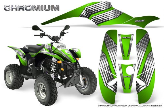 POLARIS Scrambler 500 Trailblazer 350 500 CreatorX Graphics Kit Chromium Green 570x376 - Polaris Scrambler Trailblazer 1985-2009 Graphics