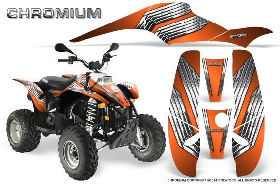 POLARIS Scrambler 500 Trailblazer 350 500 CreatorX Graphics Kit Chromium Orange 570x376 - Polaris Scrambler Trailblazer 1985-2009 Graphics