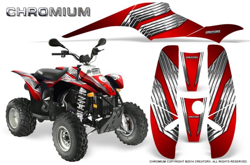 POLARIS-Scrambler-500-Trailblazer-350-500-CreatorX-Graphics-Kit-Chromium-Red