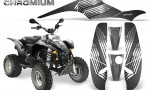 POLARIS Scrambler 500 Trailblazer 350 500 CreatorX Graphics Kit Chromium Silver 150x90 - Polaris Scrambler Trailblazer 1985-2009 Graphics