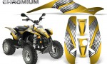 POLARIS Scrambler 500 Trailblazer 350 500 CreatorX Graphics Kit Chromium Yellow 150x90 - Polaris Scrambler Trailblazer 1985-2009 Graphics