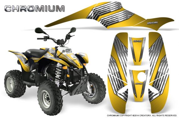 POLARIS Scrambler 500 Trailblazer 350 500 CreatorX Graphics Kit Chromium Yellow 570x376 - Polaris Scrambler Trailblazer 1985-2009 Graphics
