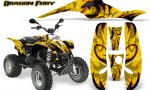 POLARIS Scrambler 500 Trailblazer 350 500 CreatorX Graphics Kit Dragon Fury Red Yellow 150x90 - Polaris Scrambler Trailblazer 1985-2009 Graphics
