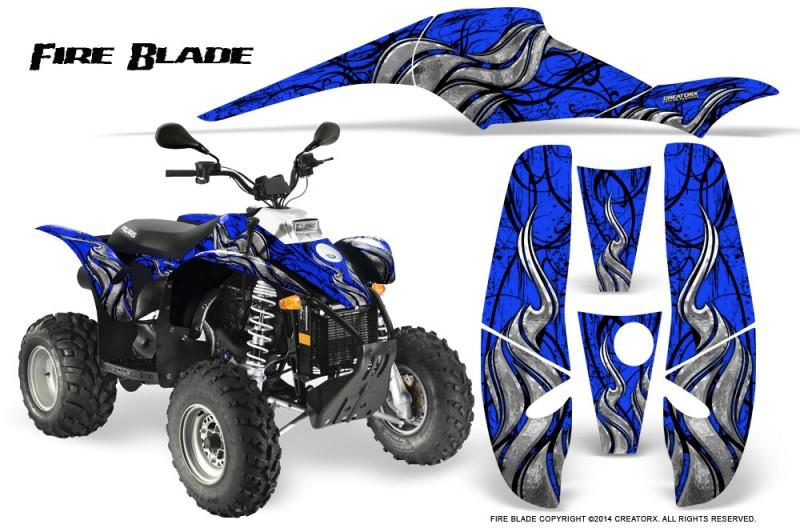 POLARIS-Scrambler-500-Trailblazer-350-500-CreatorX-Graphics-Kit-Fire-Blade-Black-Blue