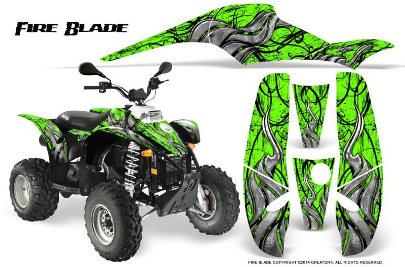 POLARIS-Scrambler-500-Trailblazer-350-500-CreatorX-Graphics-Kit-Fire-Blade-Black-Green