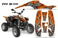 POLARIS-Scrambler-500-Trailblazer-350-500-CreatorX-Graphics-Kit-Fire-Blade-Black-Orange