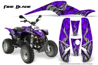 POLARIS-Scrambler-500-Trailblazer-350-500-CreatorX-Graphics-Kit-Fire-Blade-Black-Purple