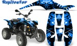 POLARIS Scrambler 500 Trailblazer 350 500 CreatorX Graphics Kit Replicator Blue 150x90 - Polaris Scrambler Trailblazer 1985-2009 Graphics