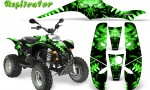 POLARIS Scrambler 500 Trailblazer 350 500 CreatorX Graphics Kit Replicator Green 150x90 - Polaris Scrambler Trailblazer 1985-2009 Graphics
