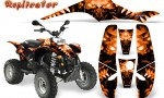 POLARIS Scrambler 500 Trailblazer 350 500 CreatorX Graphics Kit Replicator Orange 150x90 - Polaris Scrambler Trailblazer 1985-2009 Graphics