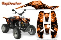 POLARIS-Scrambler-500-Trailblazer-350-500-CreatorX-Graphics-Kit-Replicator-Orange