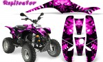 POLARIS Scrambler 500 Trailblazer 350 500 CreatorX Graphics Kit Replicator Pink 150x90 - Polaris Scrambler Trailblazer 1985-2009 Graphics