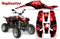 POLARIS-Scrambler-500-Trailblazer-350-500-CreatorX-Graphics-Kit-Replicator-Red