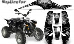 POLARIS Scrambler 500 Trailblazer 350 500 CreatorX Graphics Kit Replicator Silver 150x90 - Polaris Scrambler Trailblazer 1985-2009 Graphics