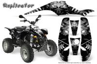 POLARIS-Scrambler-500-Trailblazer-350-500-CreatorX-Graphics-Kit-Replicator-Silver