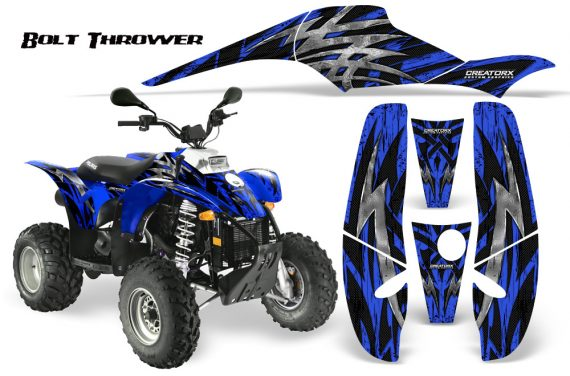 POLARIS Scrambler 500 Trailblazer 350 CreatorX Graphics Kit Bolt Thrower Blue 570x376 - Polaris Scrambler Trailblazer 1985-2009 Graphics