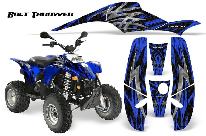 POLARIS-Scrambler-500-Trailblazer-350-CreatorX-Graphics-Kit-Bolt-Thrower-Blue