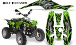 POLARIS Scrambler 500 Trailblazer 350 CreatorX Graphics Kit Bolt Thrower Green 150x90 - Polaris Scrambler Trailblazer 1985-2009 Graphics