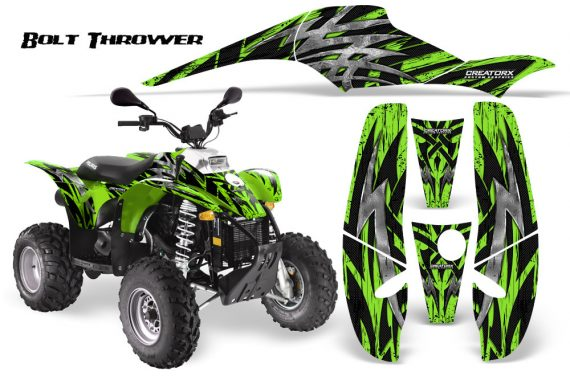 POLARIS Scrambler 500 Trailblazer 350 CreatorX Graphics Kit Bolt Thrower Green 570x376 - Polaris Scrambler Trailblazer 1985-2009 Graphics