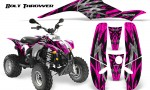 POLARIS Scrambler 500 Trailblazer 350 CreatorX Graphics Kit Bolt Thrower Pink WB 150x90 - Polaris Scrambler Trailblazer 1985-2009 Graphics