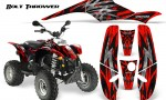 POLARIS Scrambler 500 Trailblazer 350 CreatorX Graphics Kit Bolt Thrower Red BB 150x90 - Polaris Scrambler Trailblazer 1985-2009 Graphics