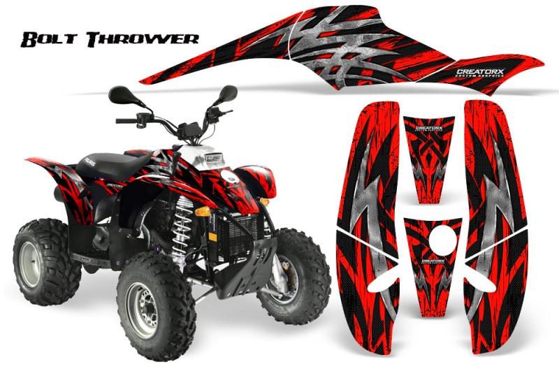 POLARIS-Scrambler-500-Trailblazer-350-CreatorX-Graphics-Kit-Bolt-Thrower-Red-BB