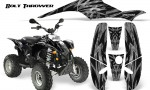 POLARIS Scrambler 500 Trailblazer 350 CreatorX Graphics Kit Bolt Thrower Silver 150x90 - Polaris Scrambler Trailblazer 1985-2009 Graphics